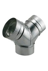 """Duct """"Y"""" Connector 6"""" X 6"""" X 6"""