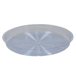 """Clear Plastic  Saucer - 16"""""""