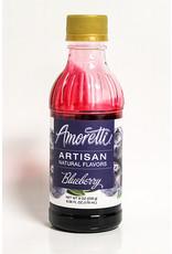 AMORETTI BLUEBERRY FRUIT PUREE 8 OZ