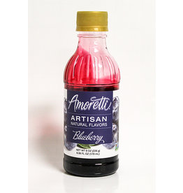 AMORETTI BLUEBERRY FRUIT PUREE 8 OZ