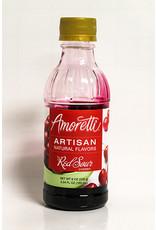 AMORETTI RED SOUR CHERRY ARTISAN FRUIT PUREE 8 OZ