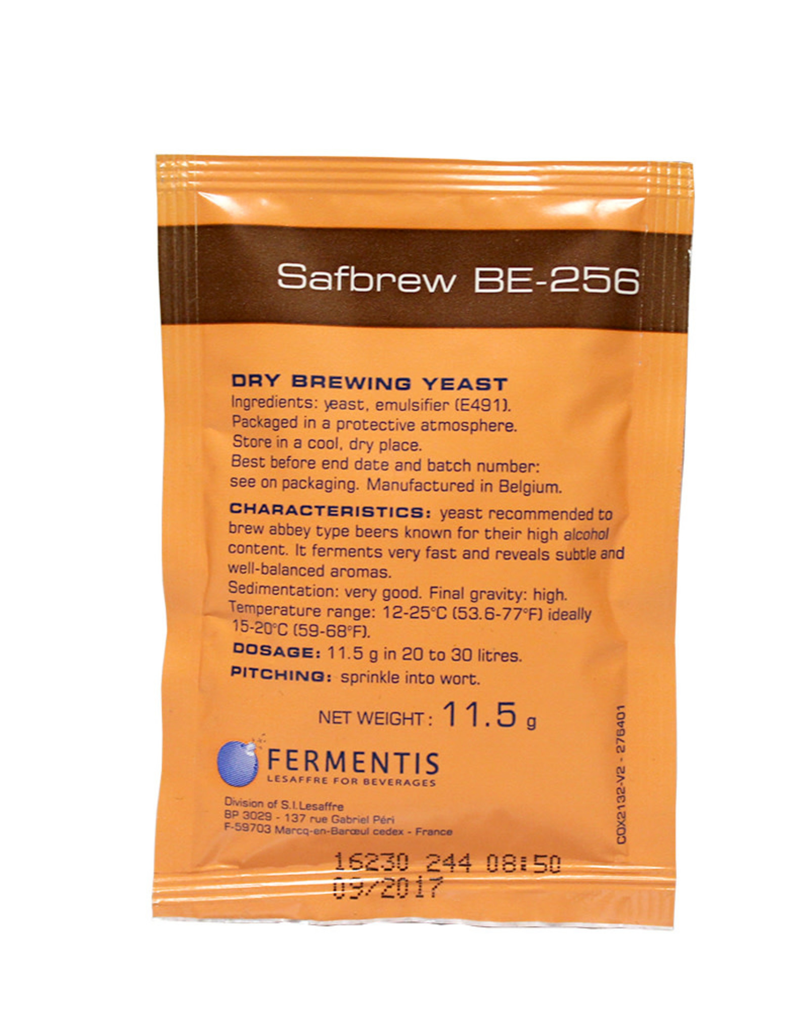 Safbrew BE-256 Dry Brewing Yeast