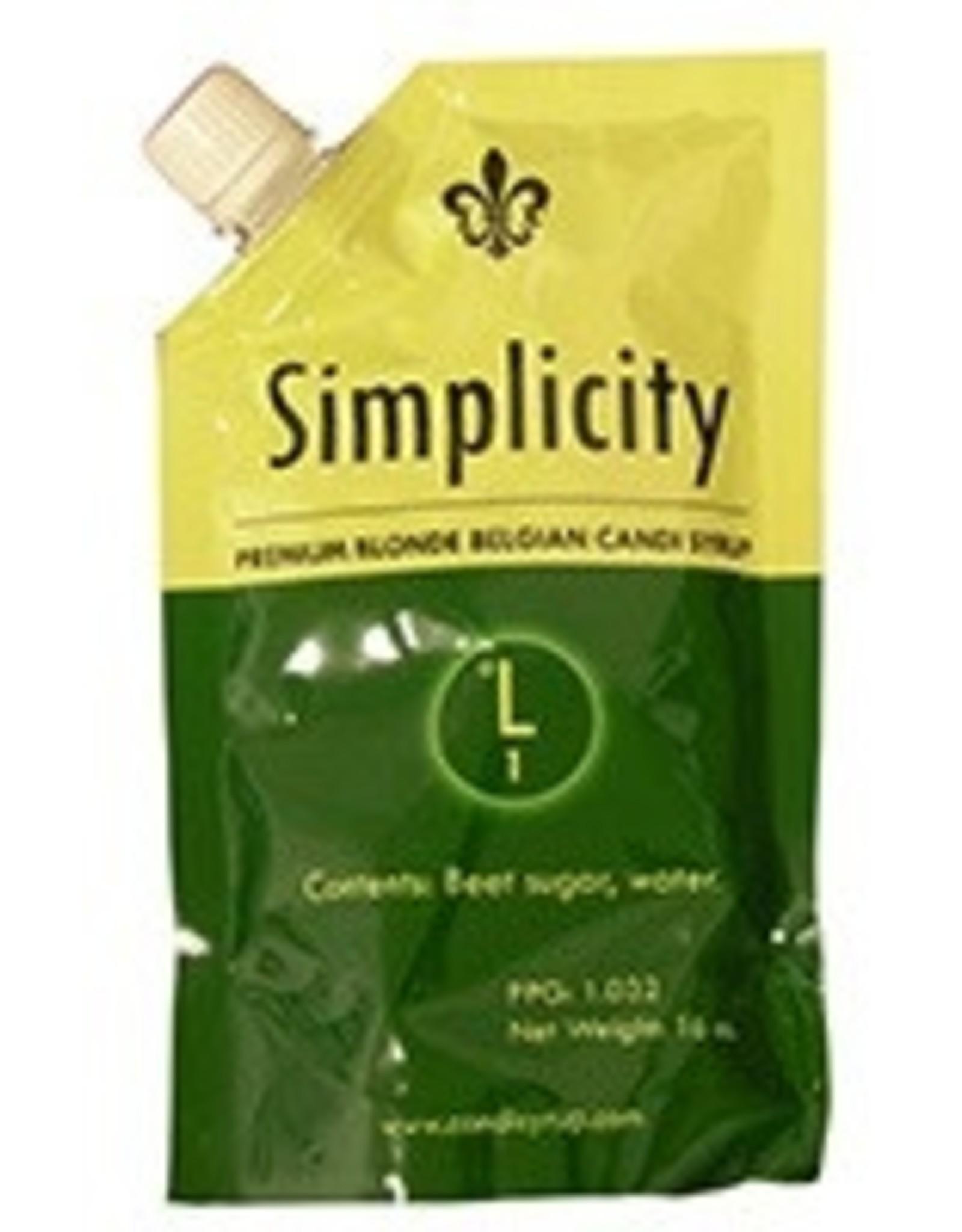 Candi Syrup - Simplicity Belgian 1 lb