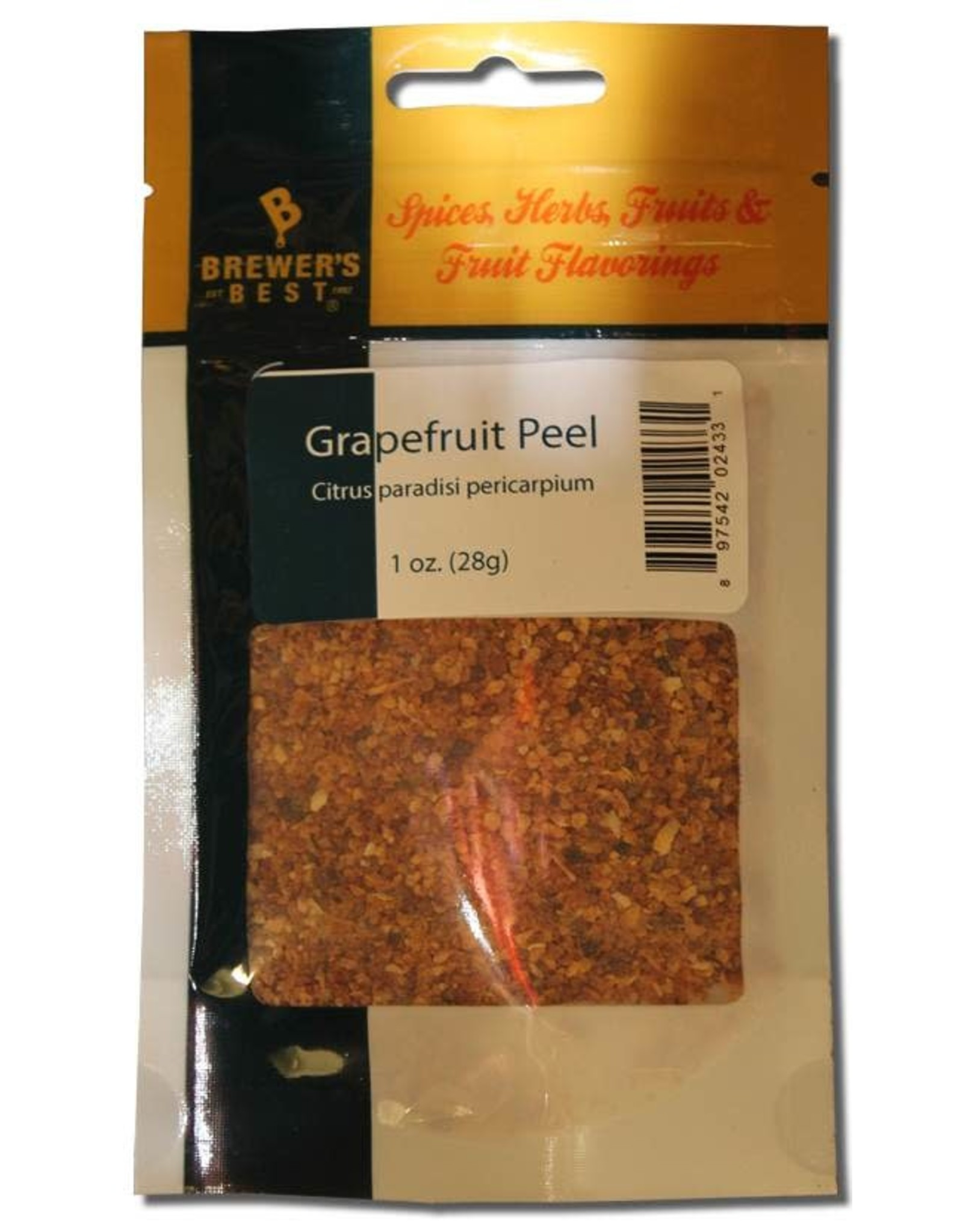 Flavoring - Grapefruit Peel 1 oz
