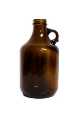 Jug -  1/4 Gal Amber Glass (Case/12)