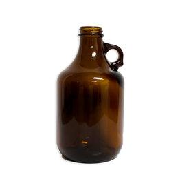 Jug -  1/4 Gal Amber Glass (Case/12)