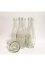 Champagne Bottle 187mL Clear CS/24