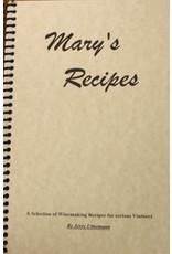 Mary's Recipes (Uthemann)