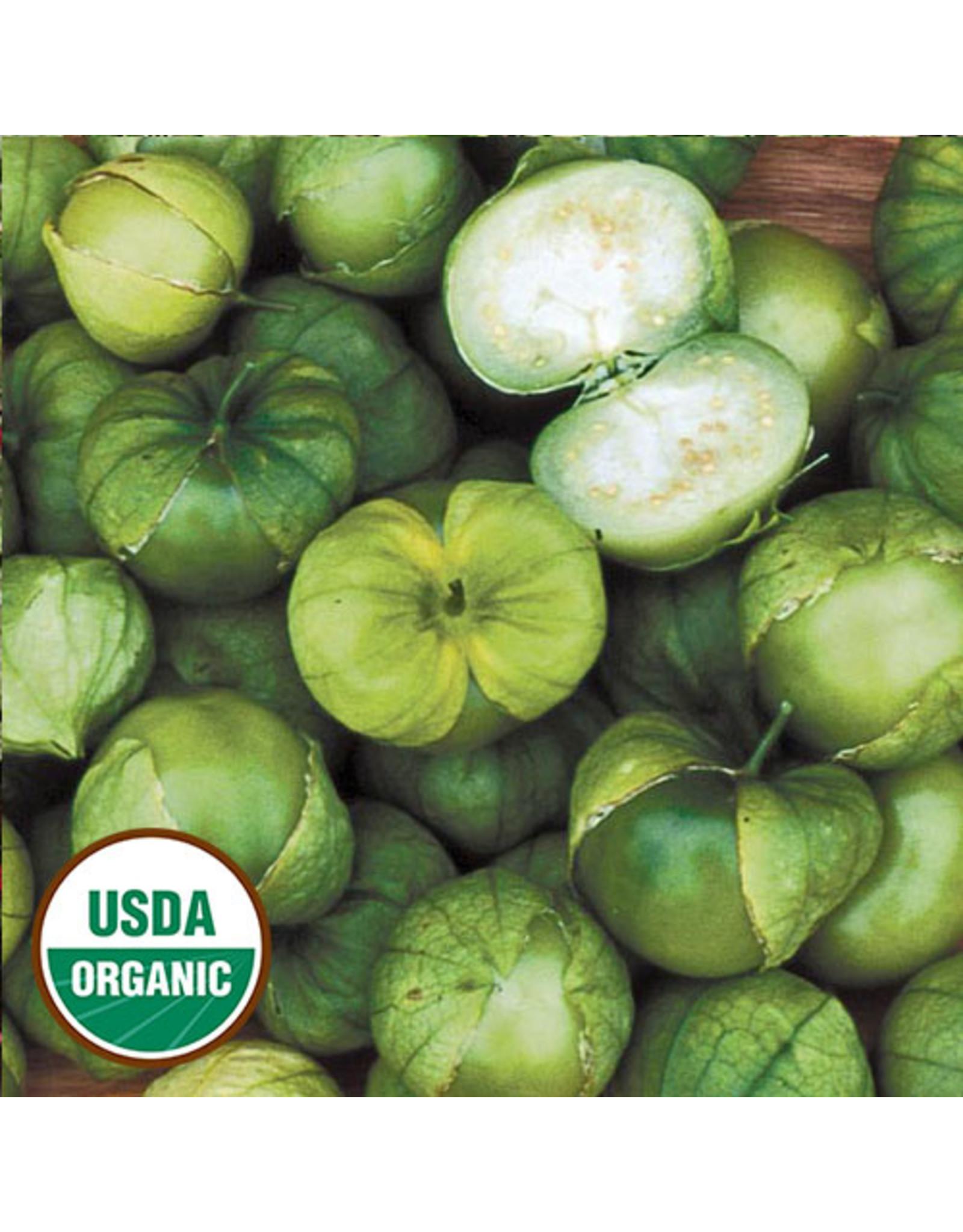 Seed Savers Tomatillo - Green Husk