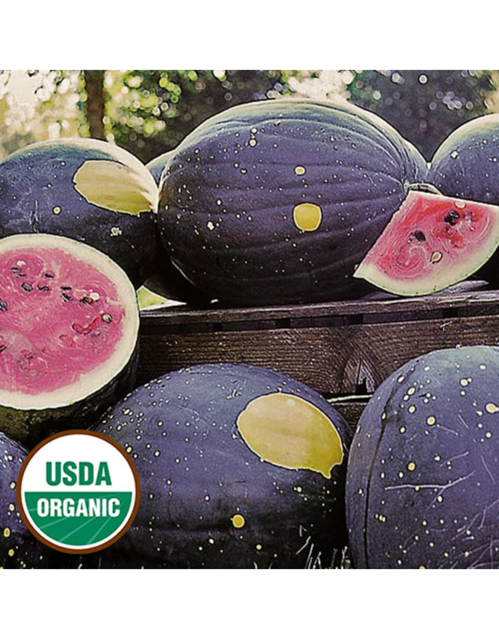 Seed Savers Watermelon - Moon and Stars (Van Doren)