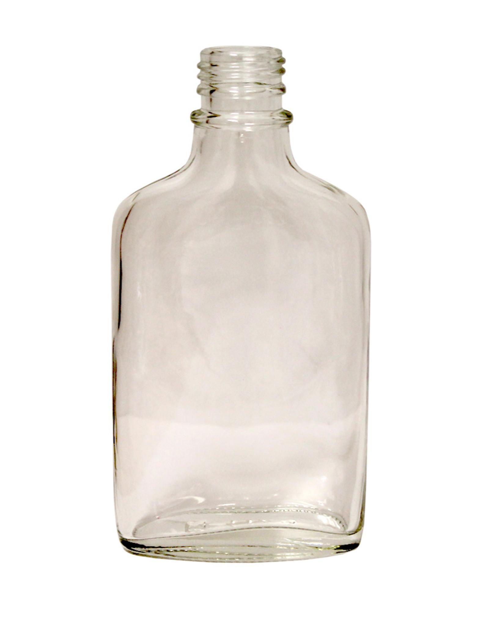 Flint Glass Flask 200 ml (Single)