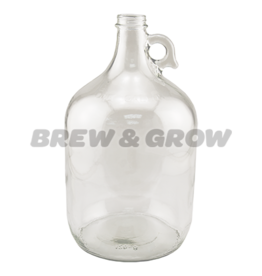 Jug - 1 Gal Glass Clear (Single)