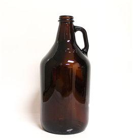 Jug - 1/2 Gal Amber Glass (Single)