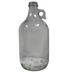 Jug - 1/2 Gal Clear Glass (Case/6)