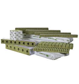"""Grodan Grodan Gro Block Improved Large 4""""x4""""x4"""" GR10 w/Hole  Strip/6"""