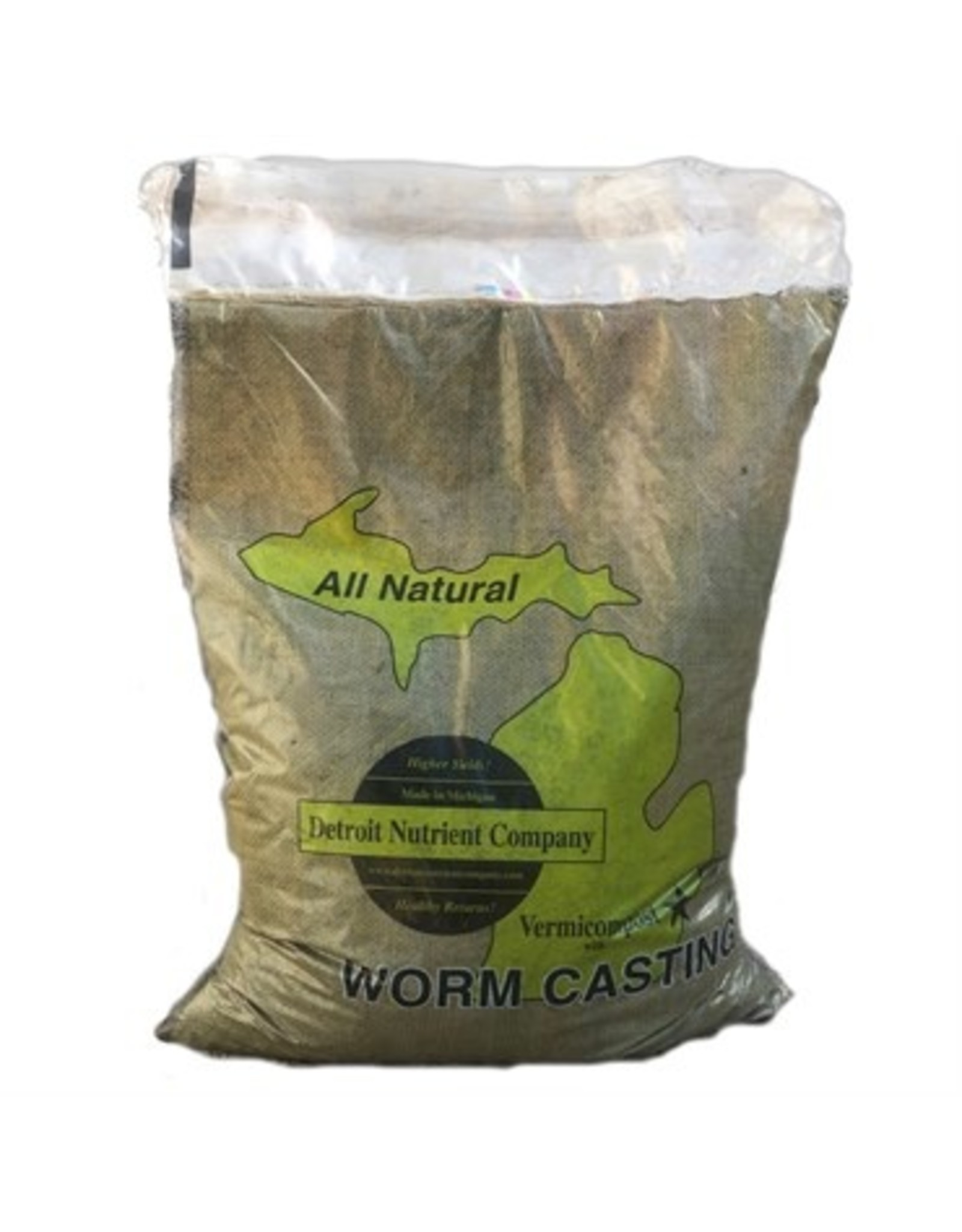DNC Vermicompost Worm Soil - 25lb