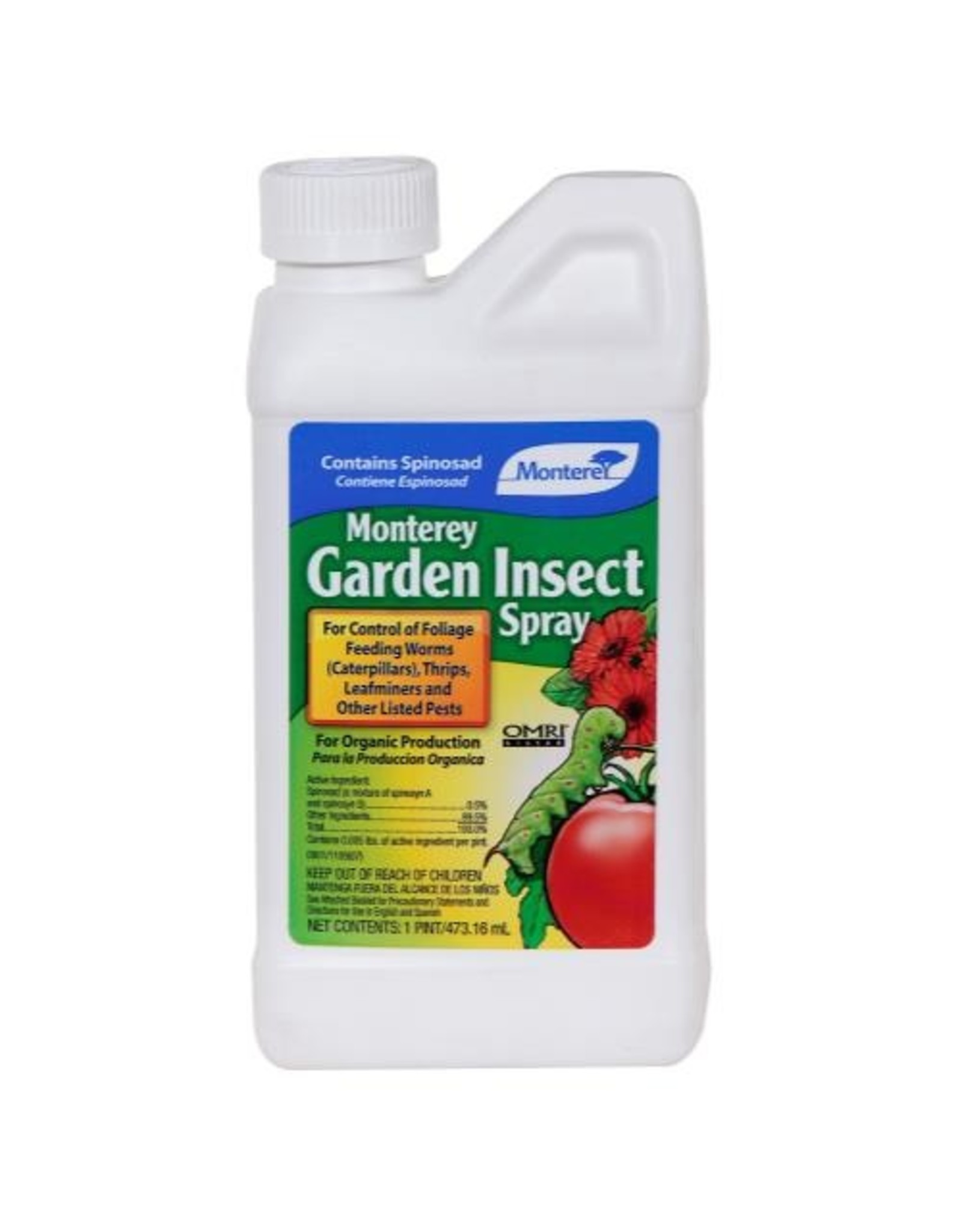 Monterey Garden Insect Spray w/ Spinosad  Pint