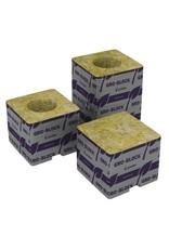 "Grodan Grodan Gro Block Improved Small 3""x3""x 2.6"" GR4 w/ hole Case/384"