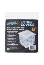 """Block Covers 6"""" Pack/40"""