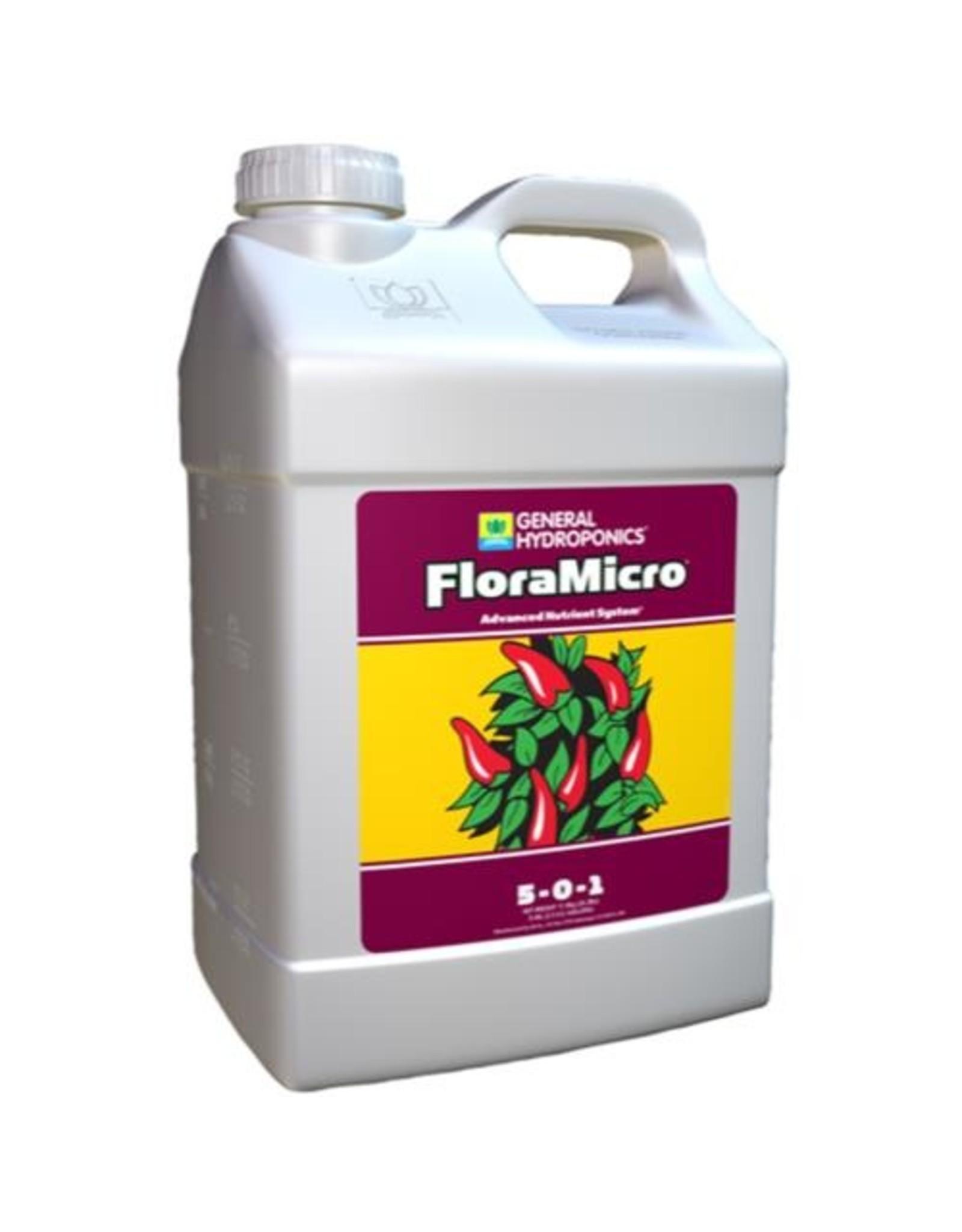 General Hydroponics GH Floramicro - 2.5 gal