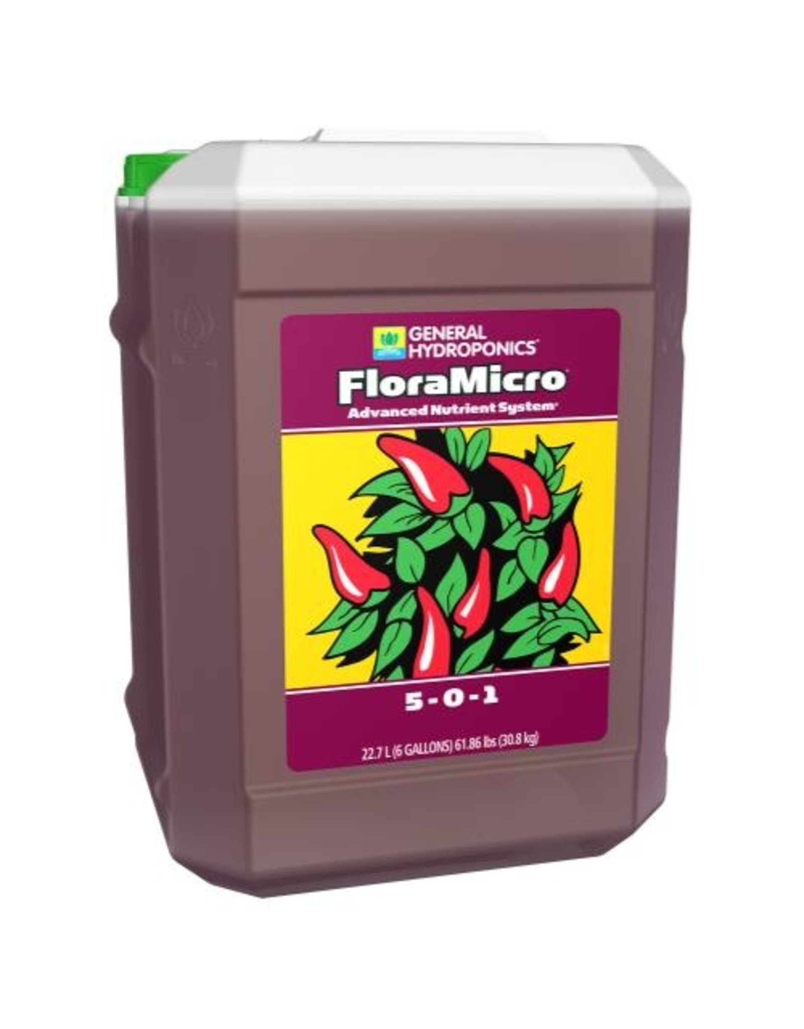 General Hydroponics GH Floramicro - 6 gal