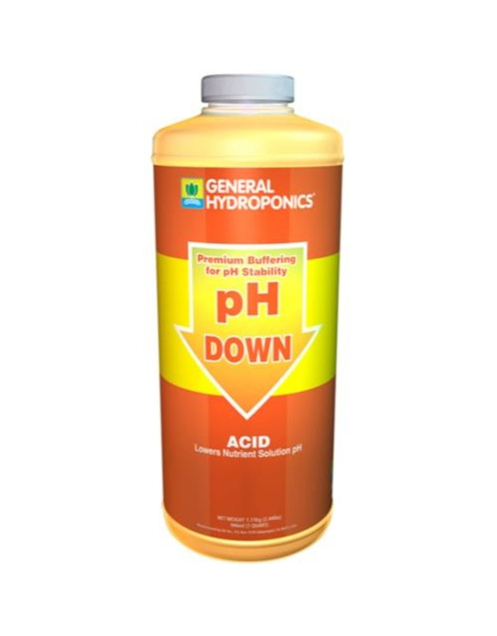 General Hydroponics GH pH Down - Qt