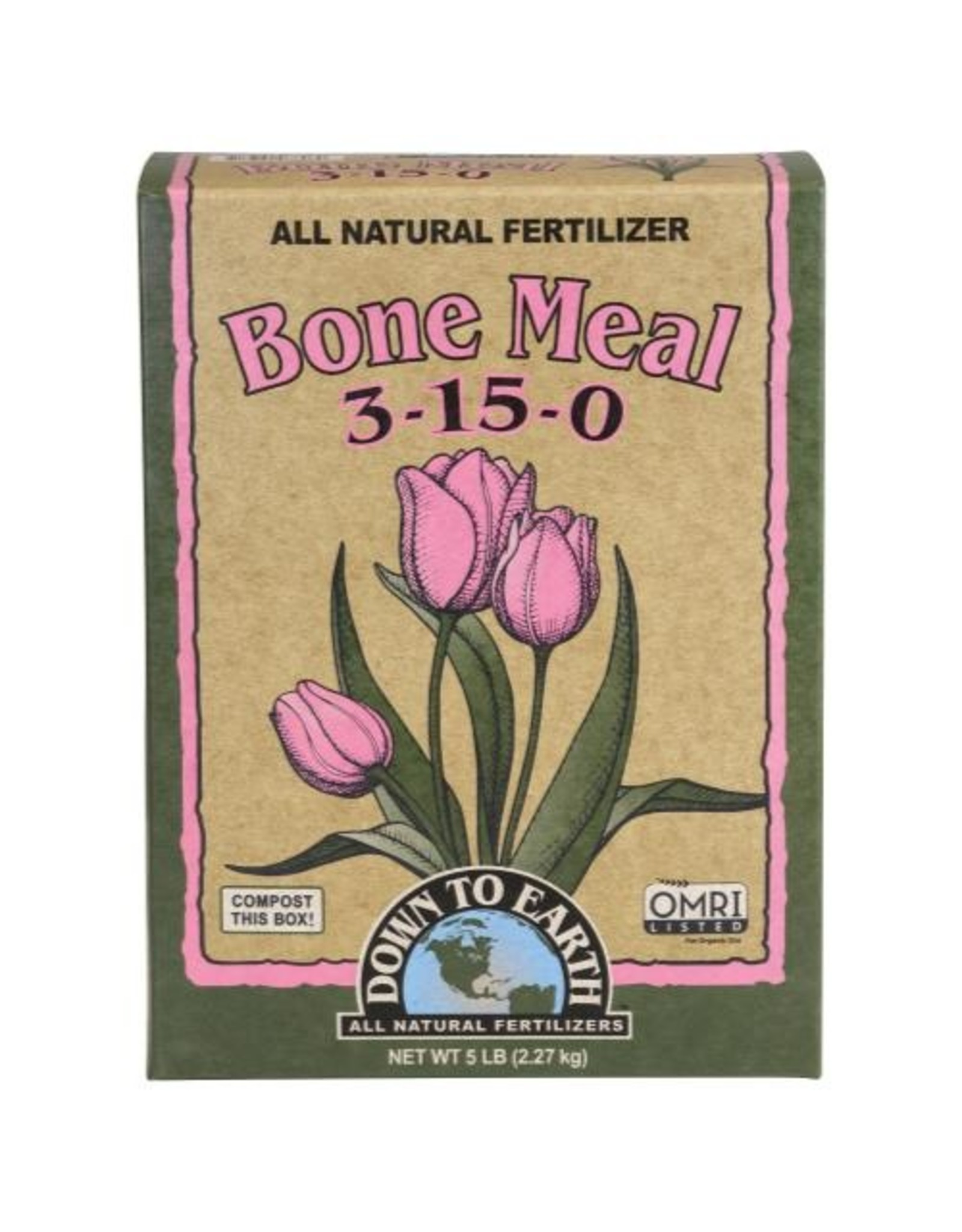 Down To Earth Down To Earth Bone Meal - 5 lb