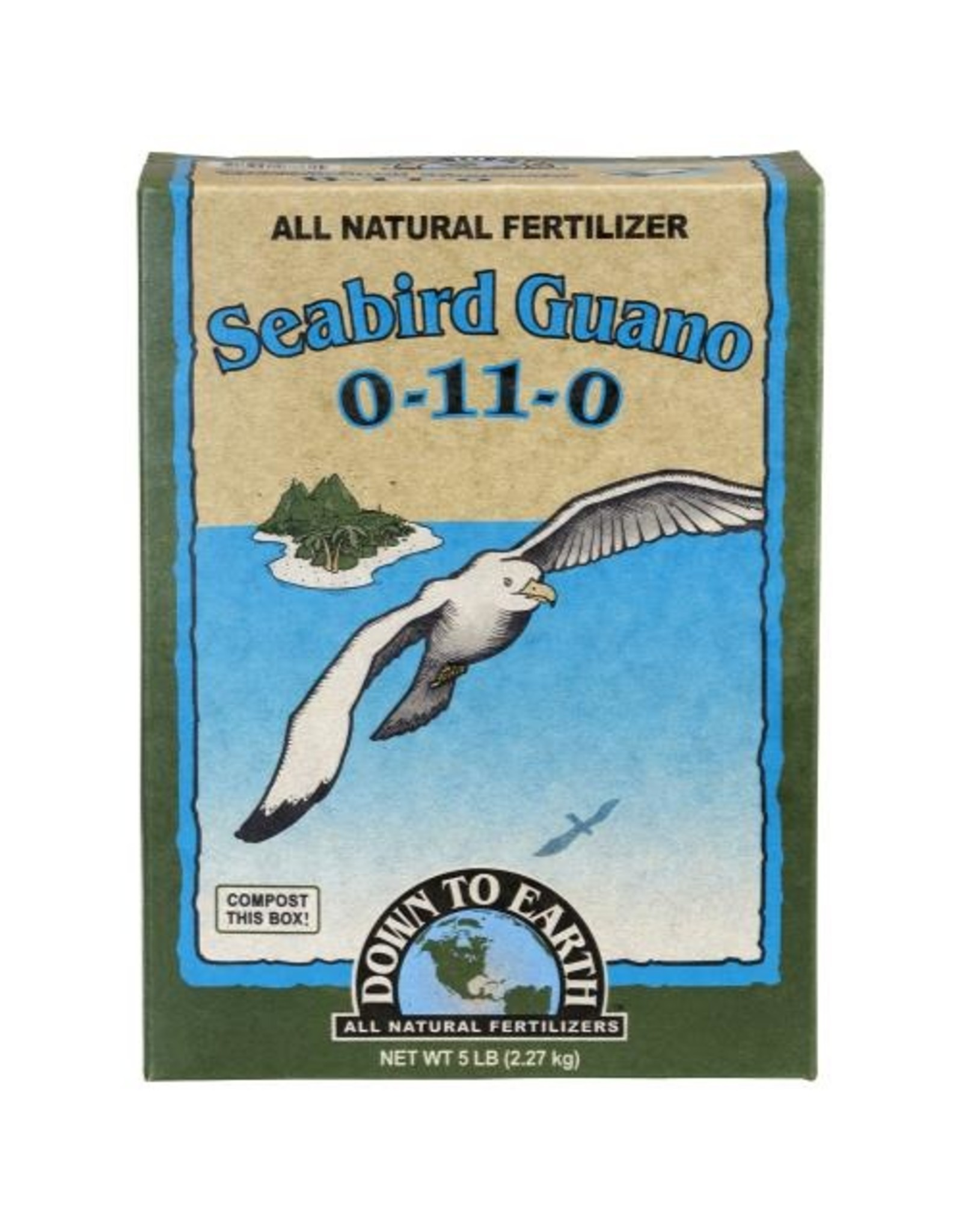 Down To Earth Down To Earth High Phosphorus Seabird Guano - 5 lb