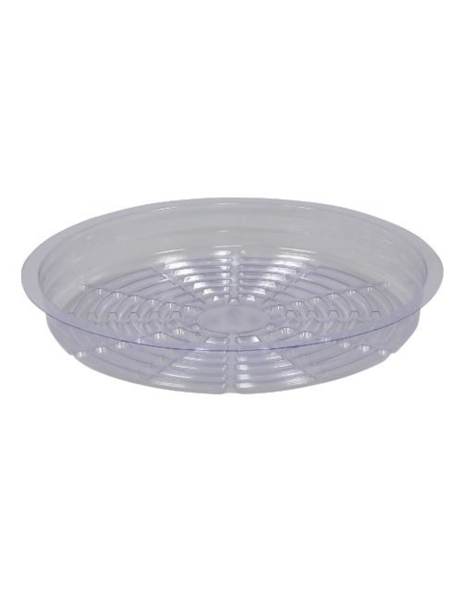"""Clear Plastic  Saucer - 10"""""""