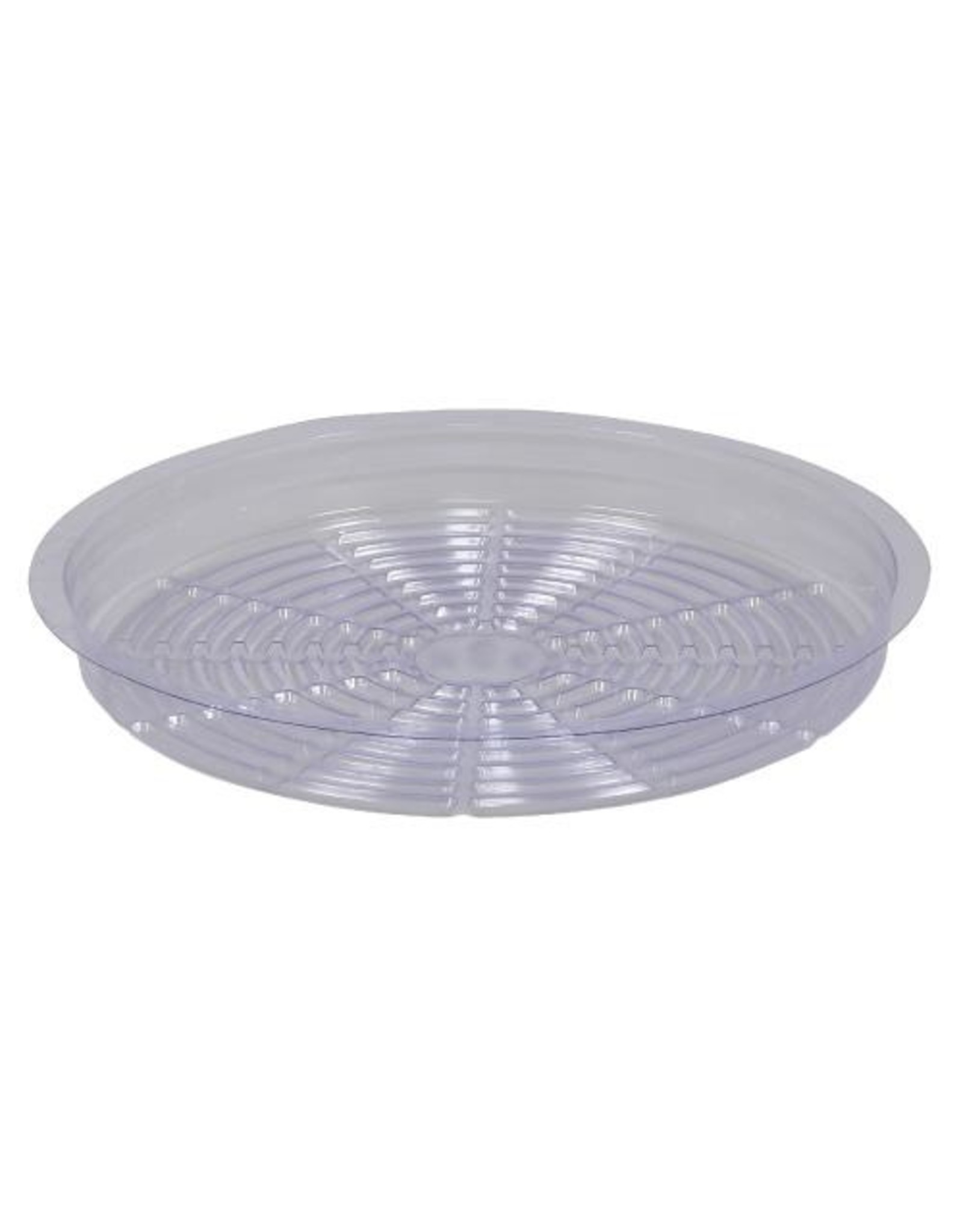 """Clear Plastic  Saucer - 12"""""""