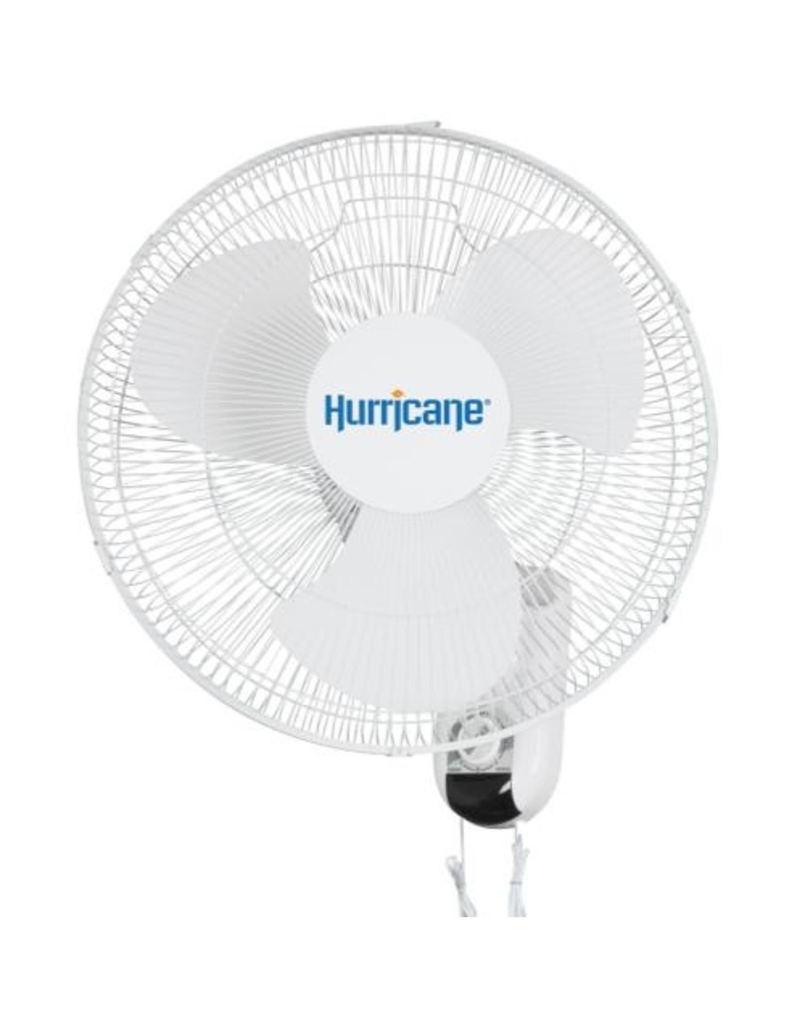 "Hurricane Oscillating Wall 16"" Fan"