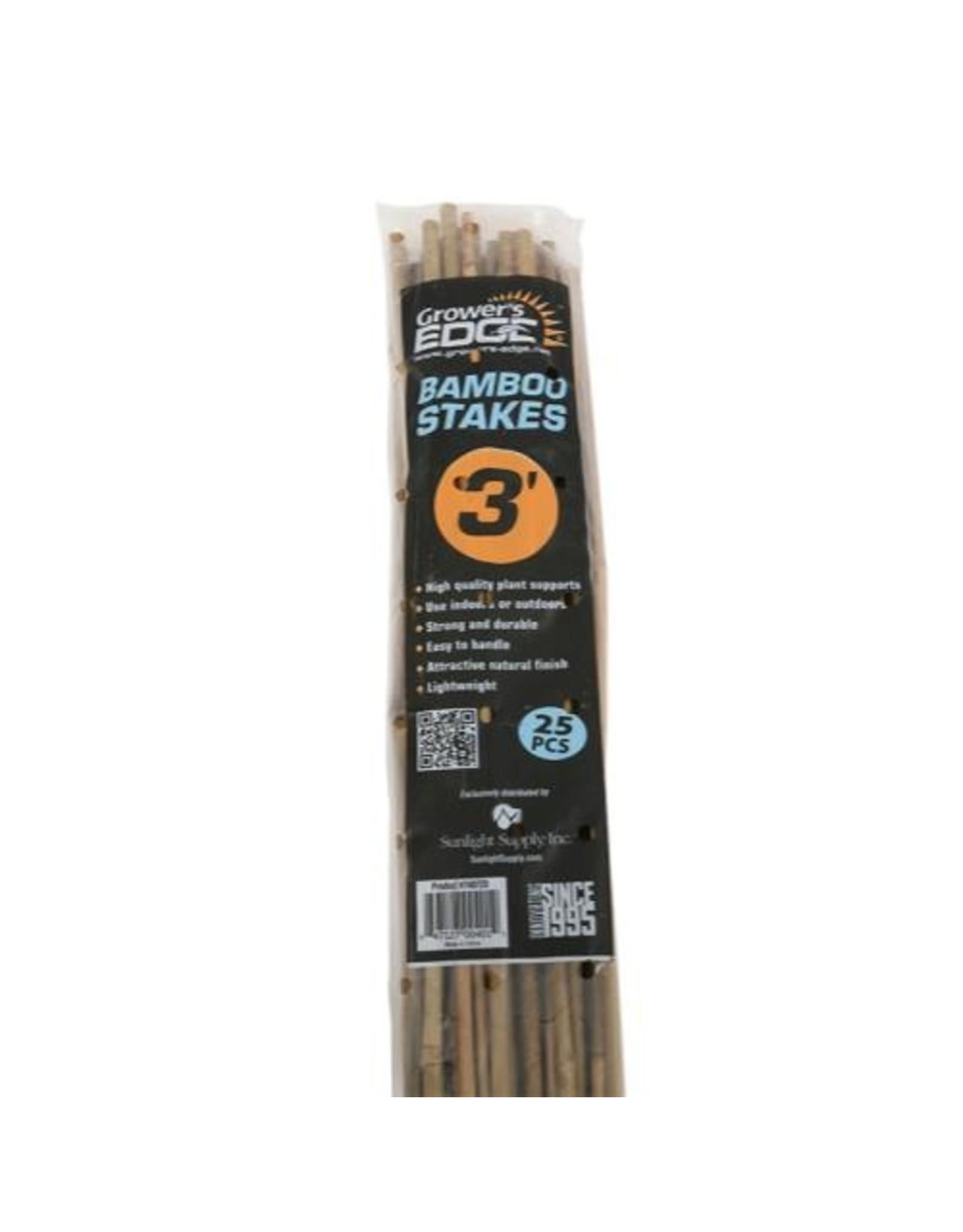 Bamboo Stake 3' Pack/25