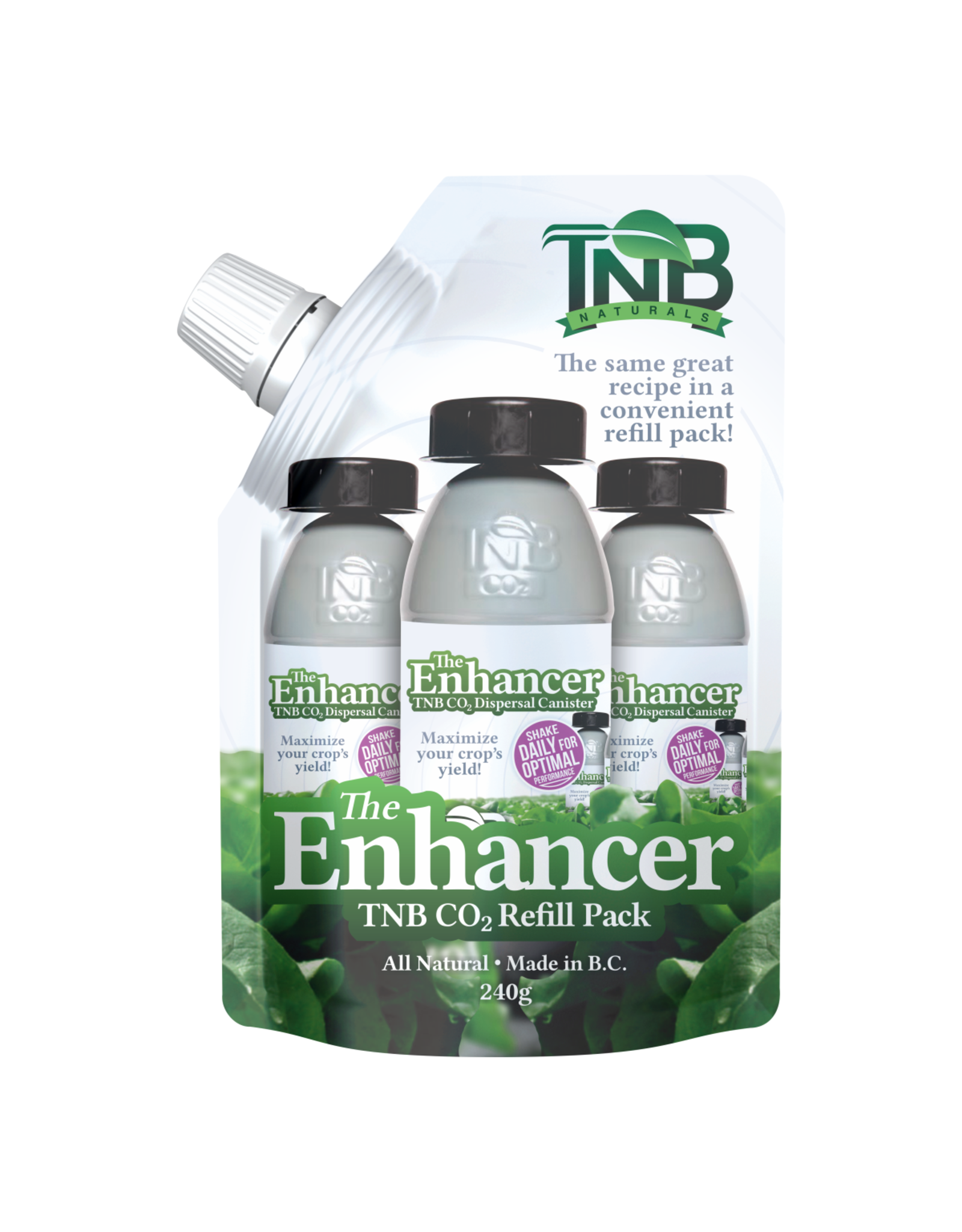 TNB Naturals TNB Naturals CO2 Enhancer Refill Pack