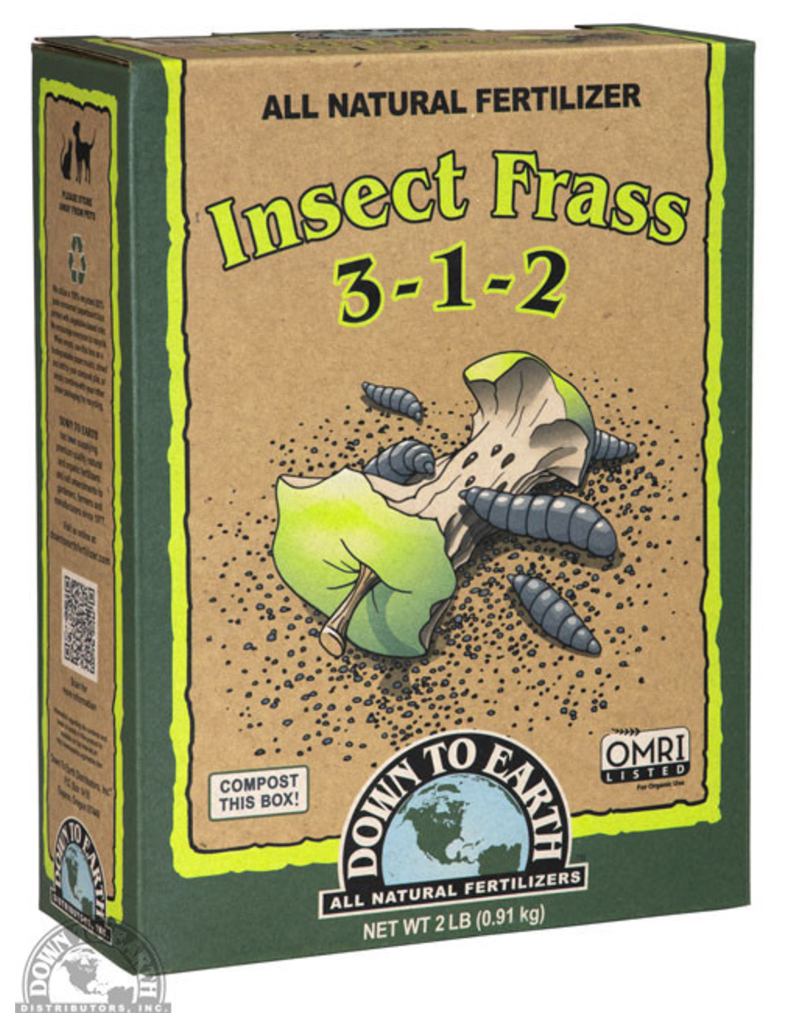 Down To Earth Down To Earth Insect Frass - 2lb