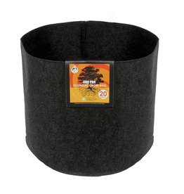 Gro Pro Gro Pro Essential Round Fabric Pot - Black 20 Gallon