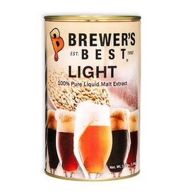 Brewer's Best Light Liquid Malt Extract 3.3 lb Tin