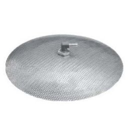 False Bottom Stainless Steel 9""