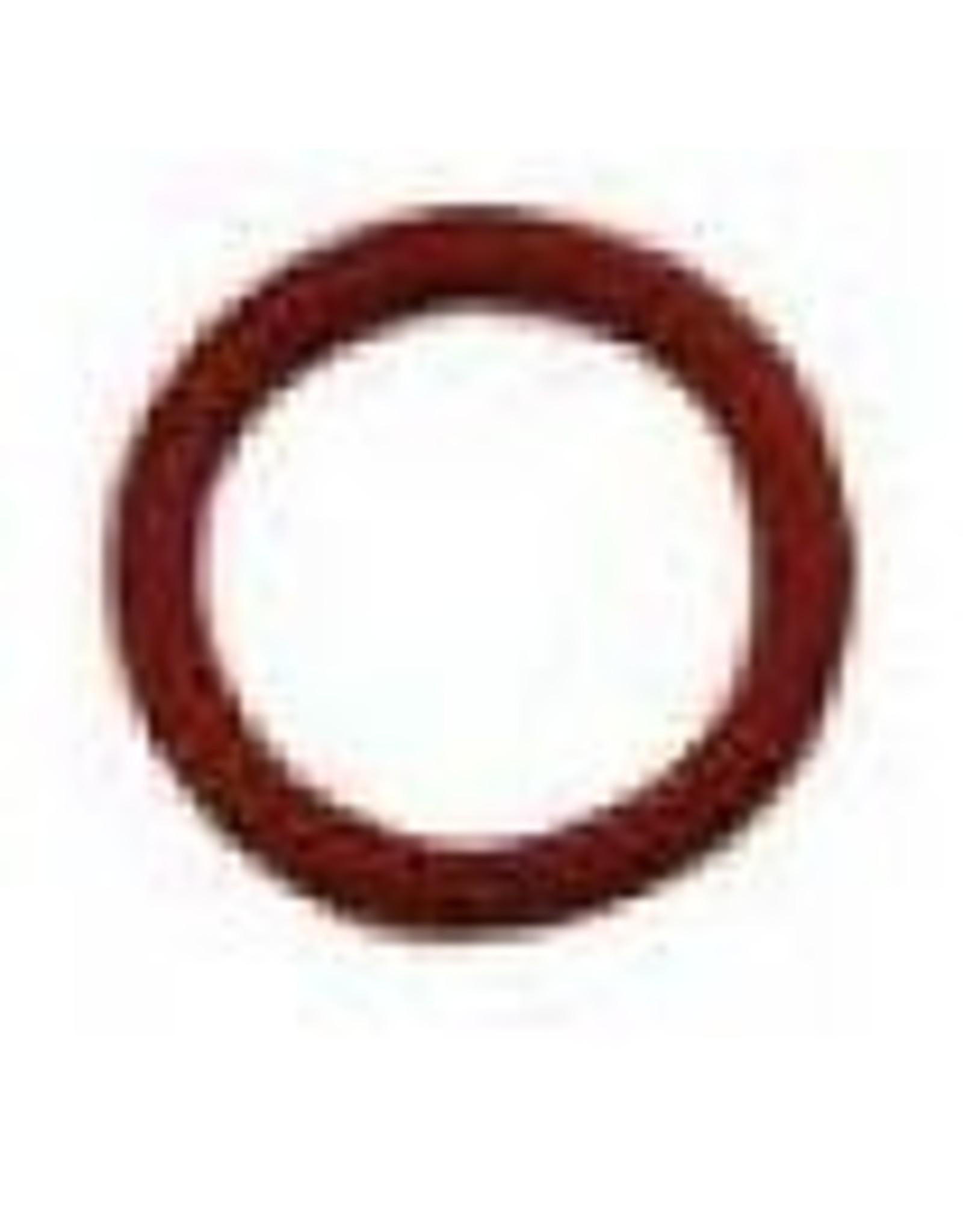 Bulkhead Silicone O-Ring Red Individual