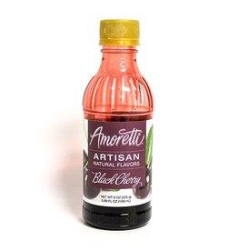 AMORETTI BLACK (SWEET) CHERRY ARTISAN FRUIT PUREE 8 OZ