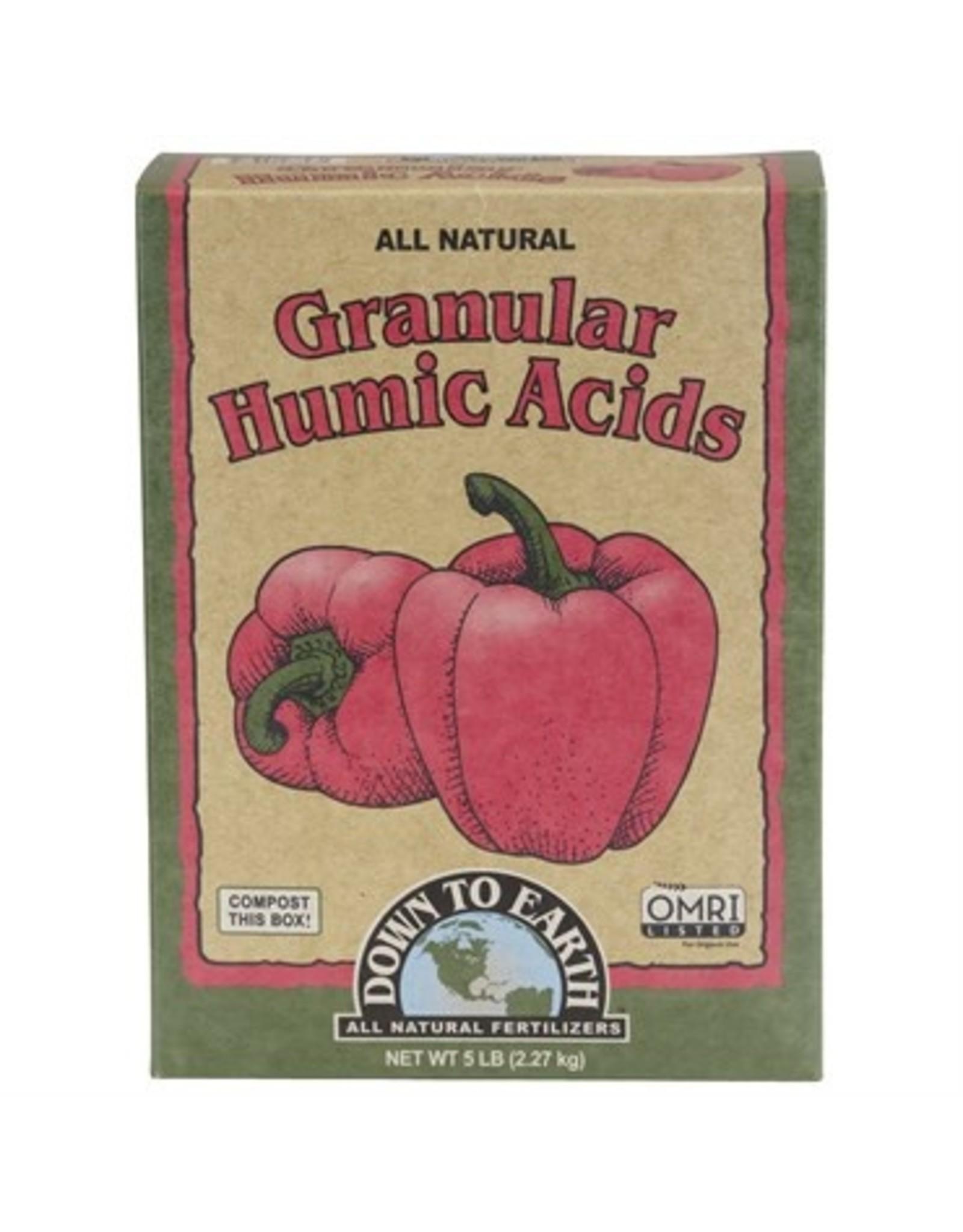 Down to Earth Granular Humic Acid 5 lb