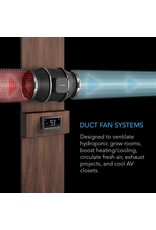 """AC Infinity CLOUDLINE T6 - 6"""" Duct Fan w/ LCD Thermal Control"""