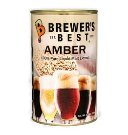 Brewer's Best Amber Liquid Malt Extract 3.3 lb Tin