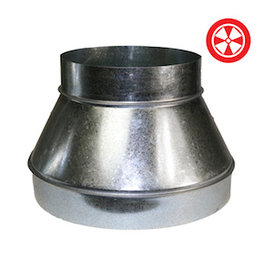 """Duct Reducer 6"""" To 4"""""""