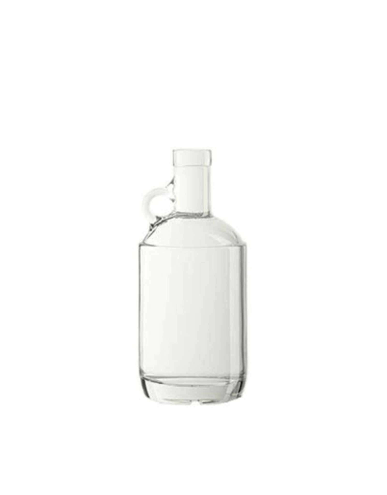 Clear 750mL Moonshine Jug 12/Case (21.5mm Cork Finish)