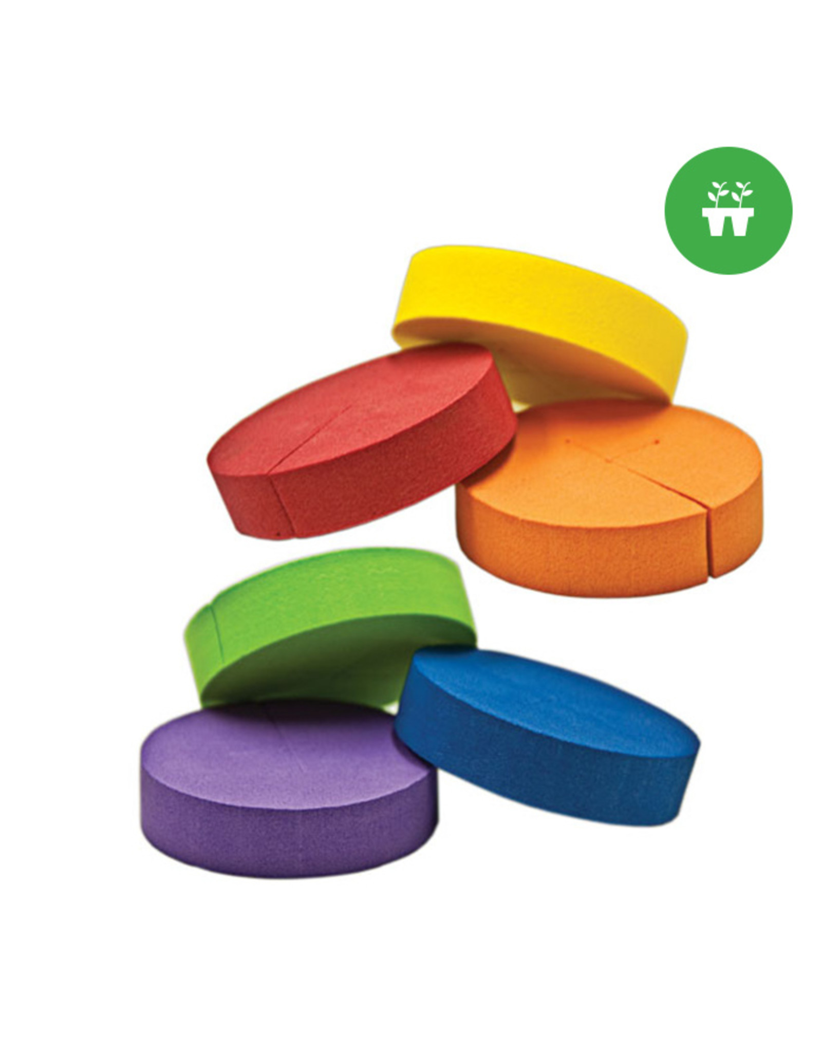 Neoprene Inserts Multi-Color 2'' (192-pack)