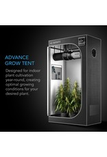 "AC Infinity CLOUDLAB 422, Advance Grow Tent, 2000D Mylar Canvas, 24"" x 24"" x 48"""