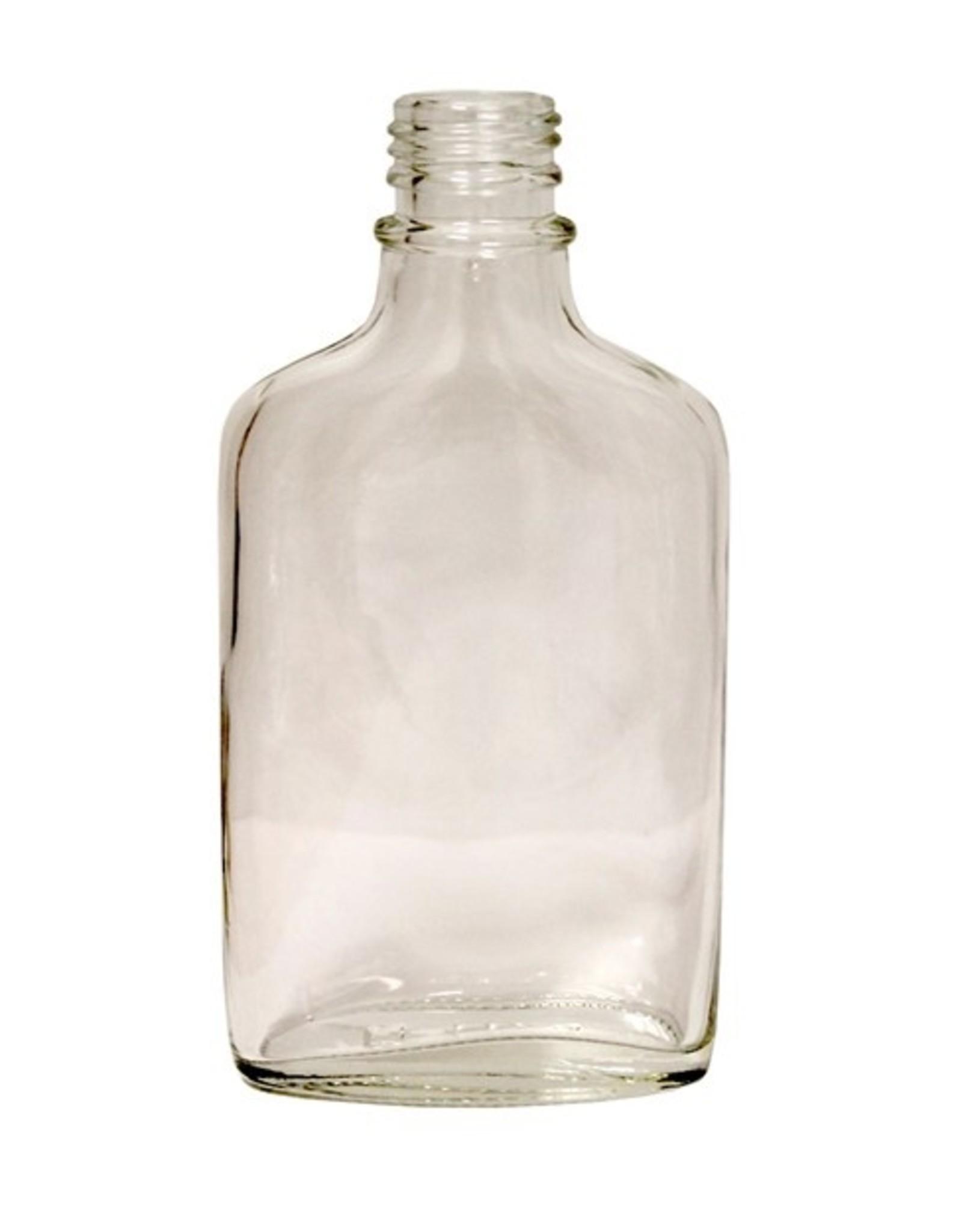 Flint Glass Flask 200 ml (Case/12)
