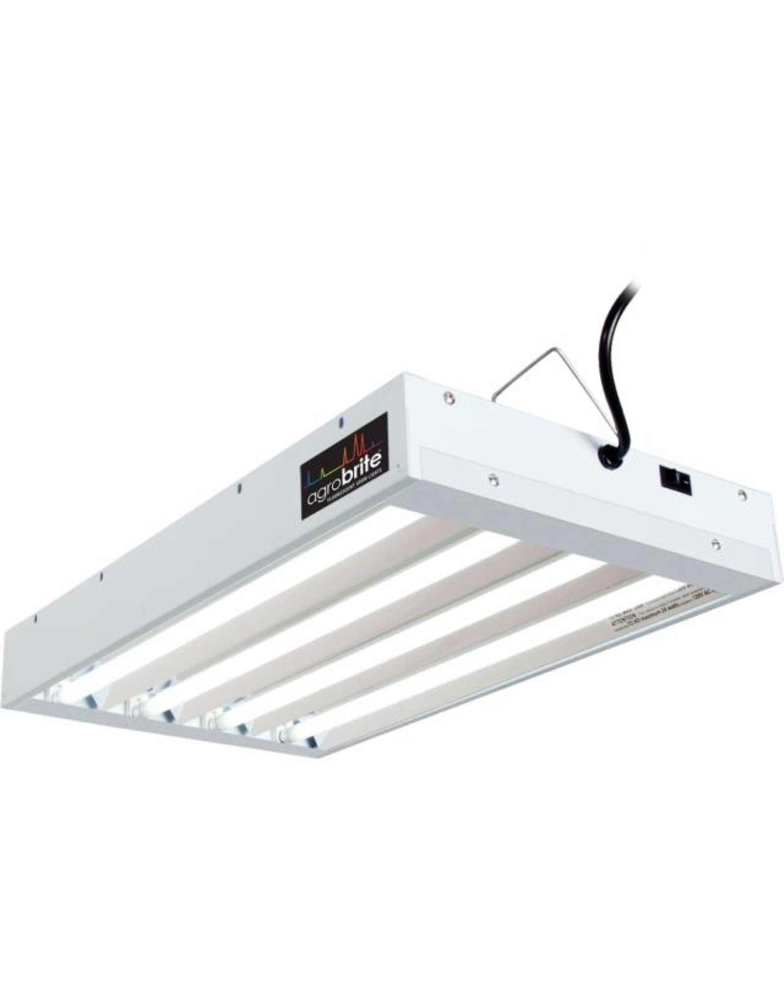 AgroBrite Agrobrite T5 96W 2' 4-Tube Fixture with Lamps