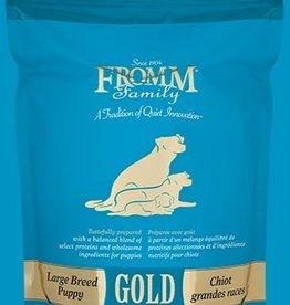 Fromm Gold Large Breed Puppy  33lb