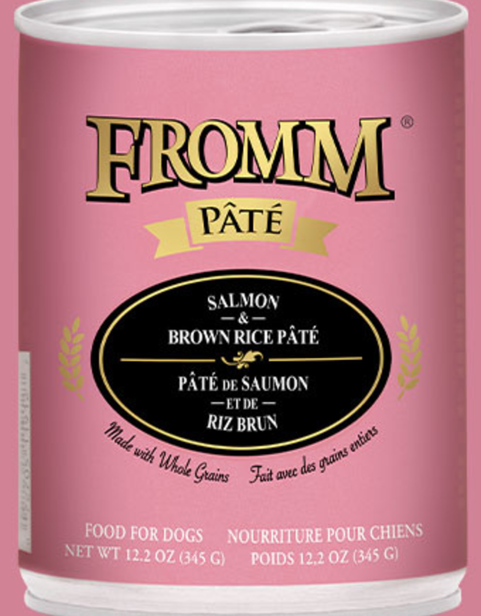 Fromm Salmon & Brown Rice Pate 12oz